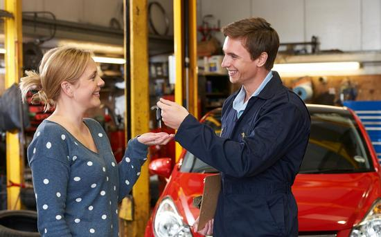car pickup at MOT and Repair Garage in Lymington and New Milton